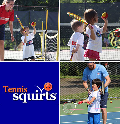 Squirts Tennis Classes and Camps